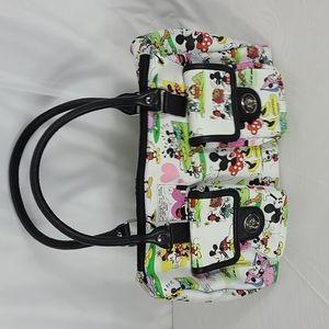 Mickey and Minnie purse
